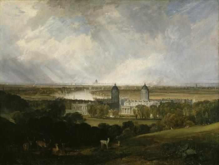 Pixerstick Aufkleber William Turner - London - Reproduktion