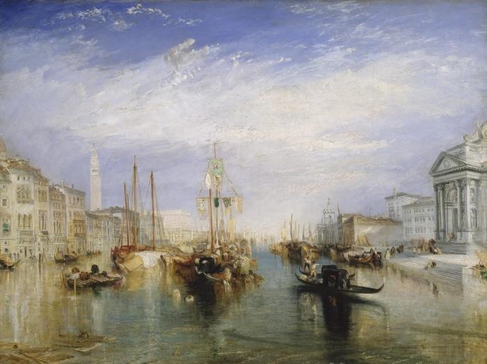 Pixerstick Aufkleber William Turner - Canal Grande - Reproduktion