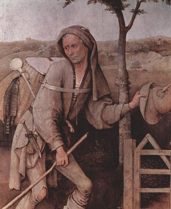 Pixerstick Aufkleber Hieronymus Bosch - Der Hausierer - Reproductions