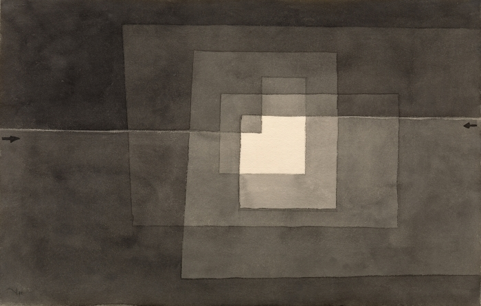Pixerstick Aufkleber Paul Klee - Zwei Gänge - Reproduktion