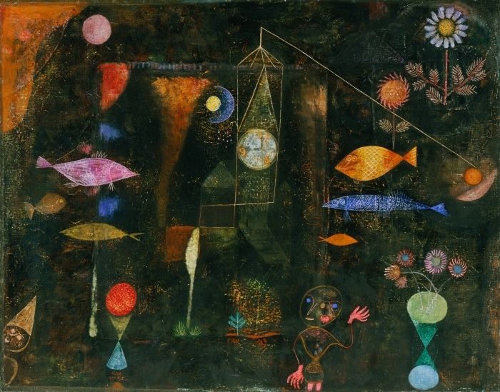 Fototapeta winylowa Paul Klee - Magia ryb - Reprodukcje