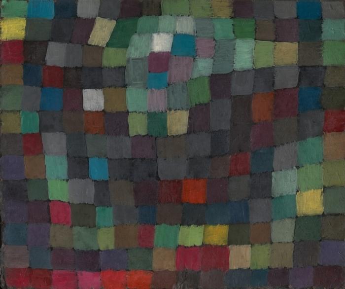 Papier peint vinyle Paul Klee - Polyphonie - Reproductions
