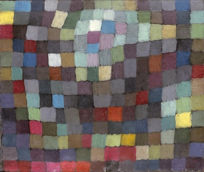 Naklejka Pixerstick Paul Klee - Majowy obraz - Reprodukcje