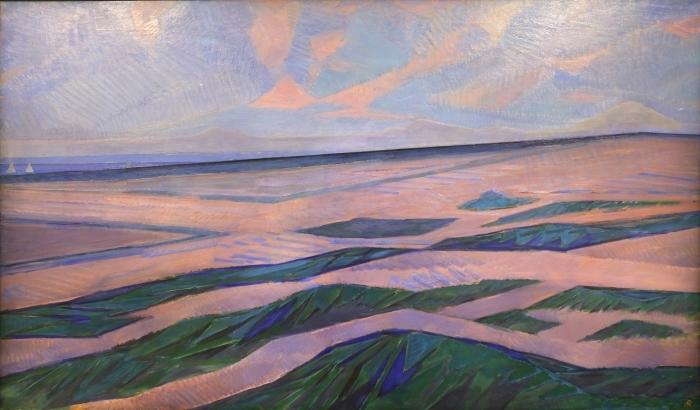 Papier peint vinyle Piet Mondrian - Dune - Reproductions