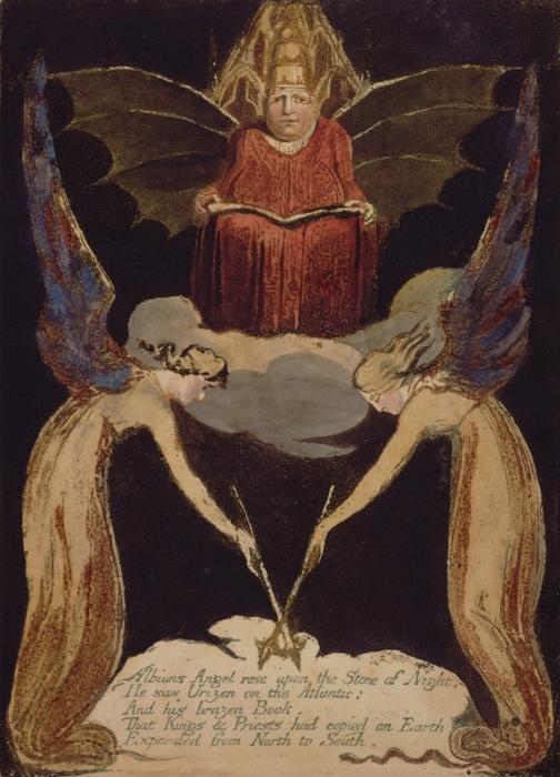 Naklejka Pixerstick William Blake - Jerozolima - Reprodukcje