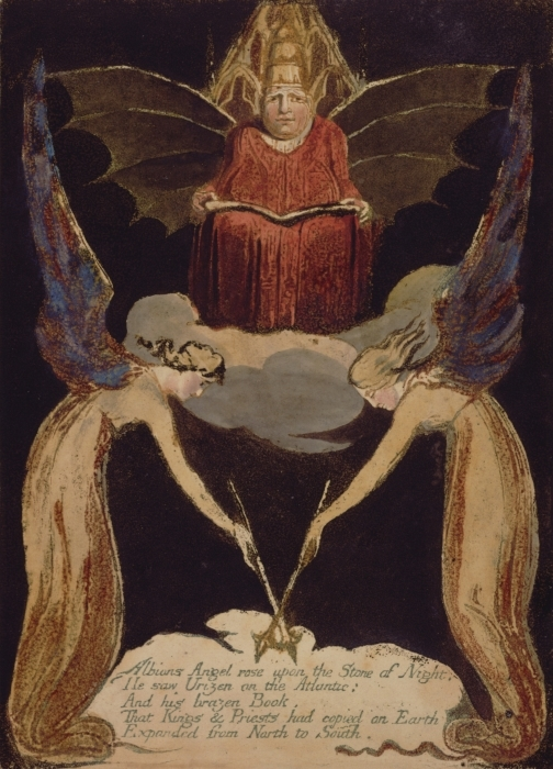 Vinilo Pixerstick William Blake - Jerusalén - Reproducciones