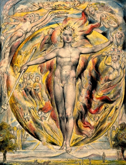 Sticker Pixerstick William Blake - Moïse - Reproductions