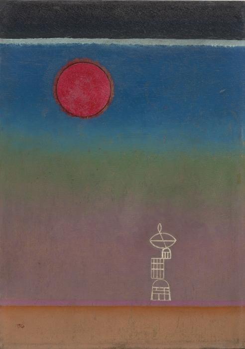 Papier peint vinyle Vassily Kandinsky - Loin - Reproductions