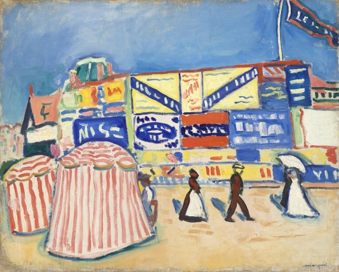 Albert Marquet - Posters in Trouville Vinyl Wall Mural - Reproductions