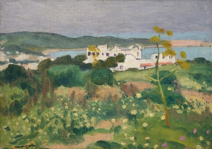 Papier peint vinyle Albert Marquet - Marquet L'Archevêché, Sidi-Bou-Saïd - Reproductions