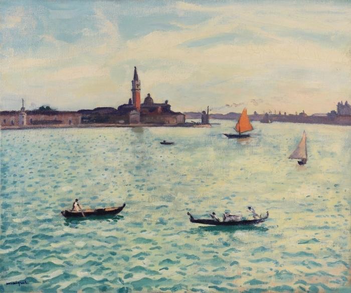 Pixerstick Aufkleber Albert Marquet - Venedig - Reproductions