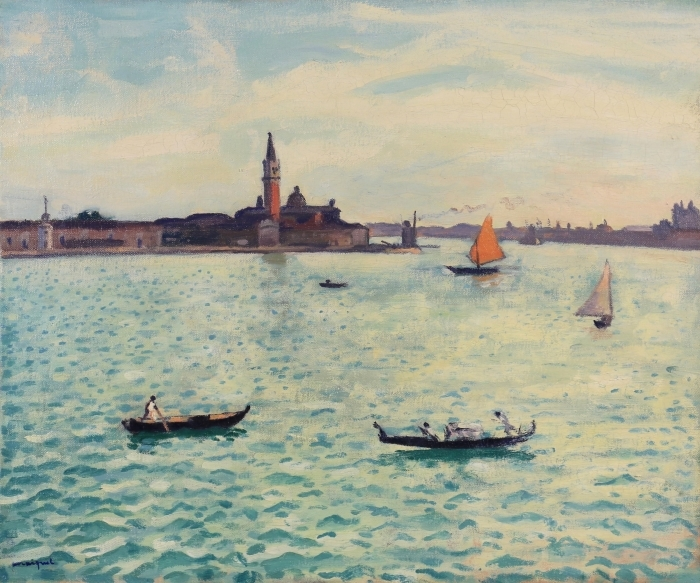 Albert Marquet - Venice Pixerstick Sticker - Reproductions