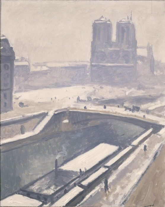 Vinyl-Fototapete Albert Marquet - Blick auf Notre-Dame - Reproductions