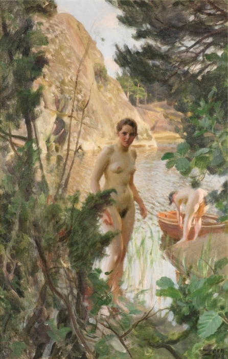 Fotomural Autoadhesivo Anders Zorn - Barca - Reproductions