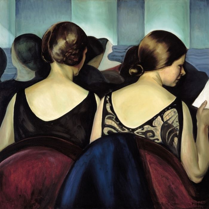 Vinyl-Fototapete Efa Prudence Heward - Im Theater - Reproductions