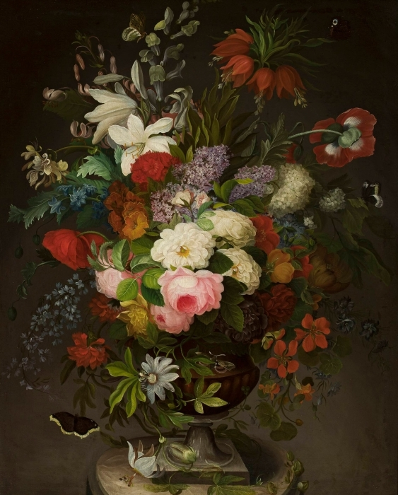 Vinilo Pixerstick Henryka Beyer - Flores - Reproductions
