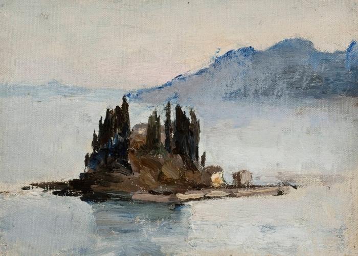 Papier peint vinyle Jan Ciągliński - Corfou. D'un voyage en Grèce - Reproductions