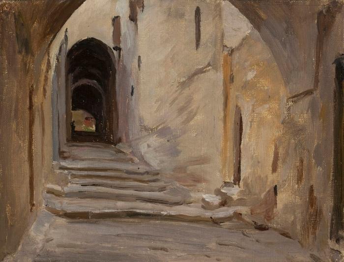 Adesivo Pixerstick Jan Ciągliński - Gerusalemme. Dal viaggio in Palestina - Reproductions