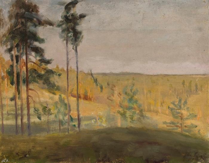 Naklejka Pixerstick Jan Ciągliński - Terioki - Finlandia - Reproductions