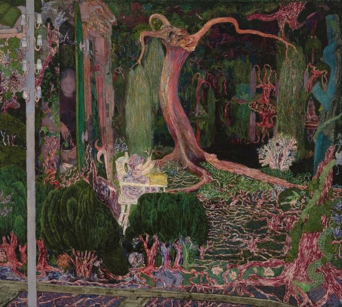 Papier peint vinyle Jan Toorop - La nouvelle génération - Reproductions