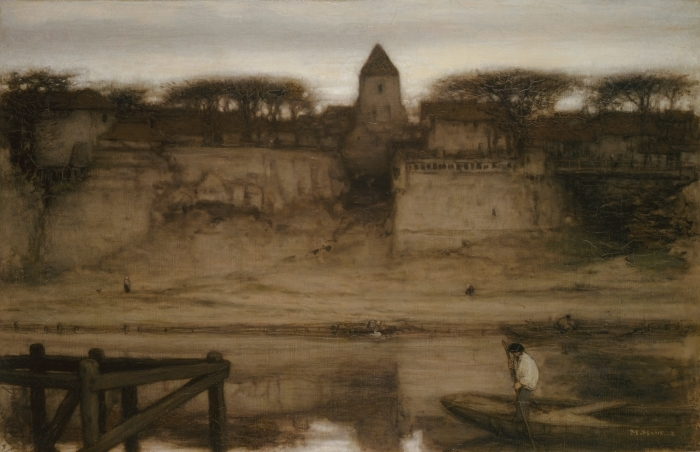 Papier peint vinyle Matthijs Maris - Saint-Ouen - Reproductions