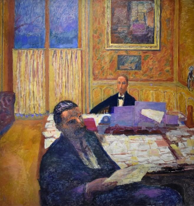 Papier peint vinyle Pierre Bonnard - Les frères Bernheim-Jeune - Reproductions