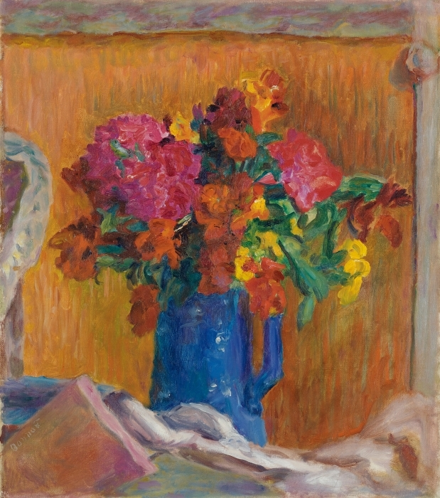 Pierre Bonnard - The Blue Jar Pixerstick Sticker - Reproductions