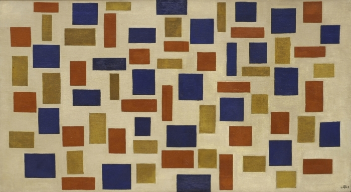 Naklejka Pixerstick Theo van Doesburg - Kompozycja XI - Reproductions