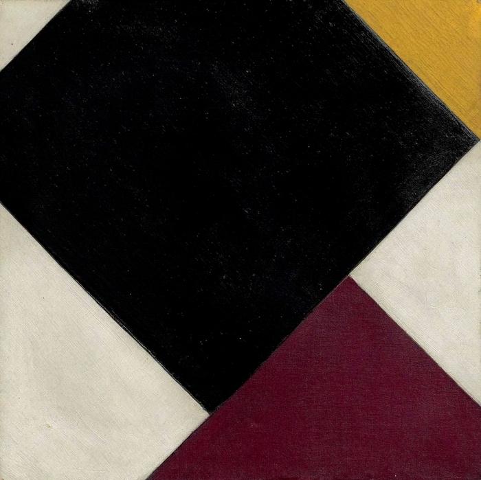 Papier peint vinyle Theo van Doesburg - Contre-composition XI - Reproductions
