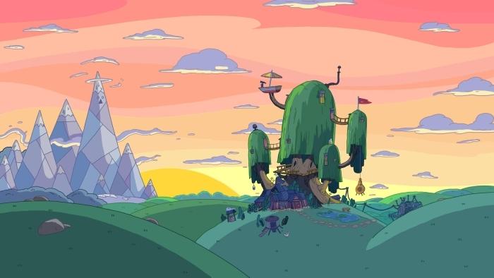 Sticker Pixerstick Adventure Time: Fort - Le temps de l'Aventure