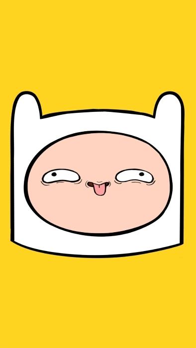 Papier peint vinyle Adventure Time: Finn - Le temps de l'Aventure