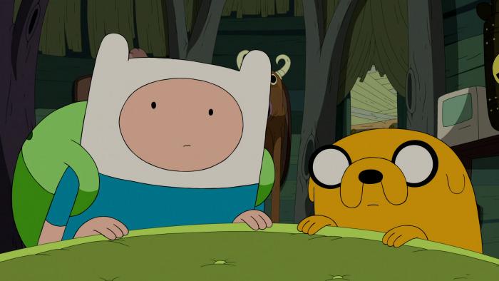 Papier peint vinyle Adventure Time: Finn & Jake - Le temps de l'Aventure