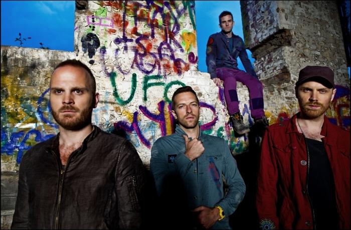 Coldplay Pixerstick Sticker - Coldplay