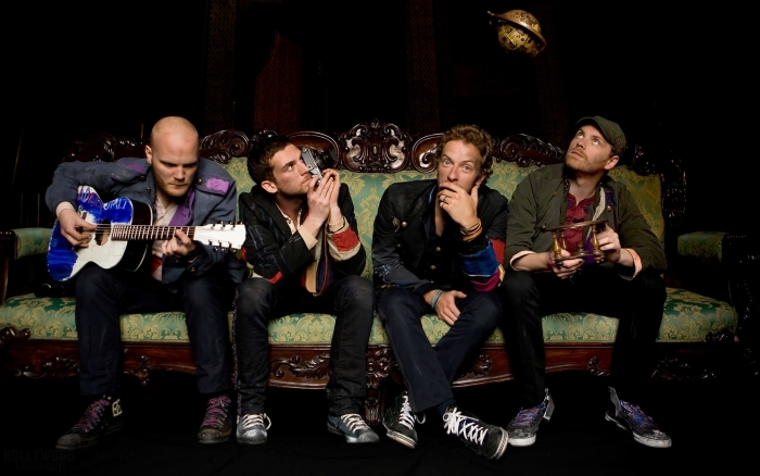 Fototapeta winylowa Coldplay - Coldplay