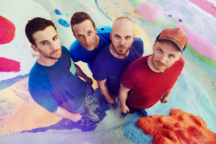 Vinilo Pixerstick Coldplay - Coldplay