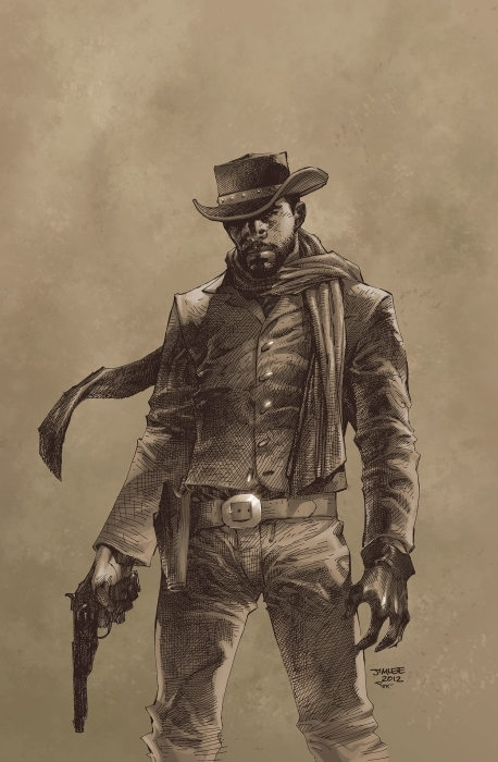 Papier peint vinyle Django - Django Unchained