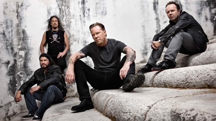Metallica Vinyl Wall Mural - Metallica