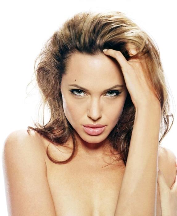 Papier peint vinyle Angelina Jolie - Angelina Jolie