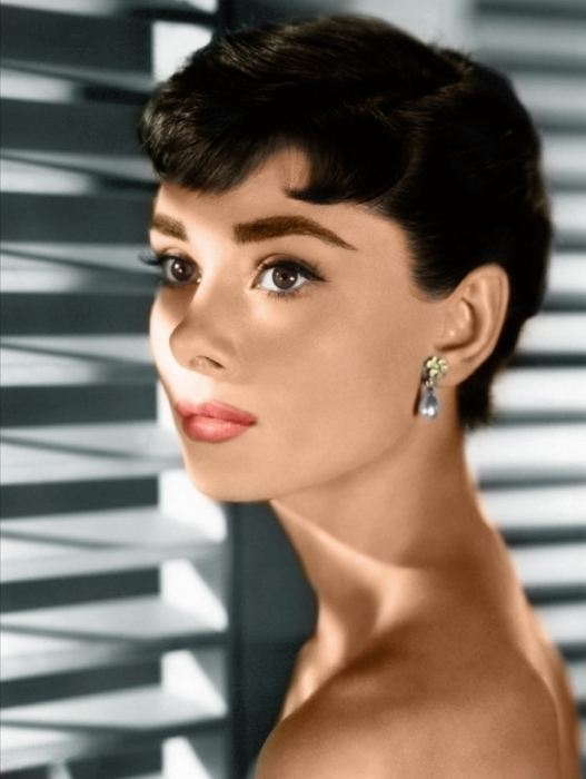 Papier peint vinyle Audrey Hepburn - Criteo