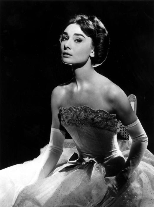 Vinyl Fotobehang Audrey Hepburn - Criteo