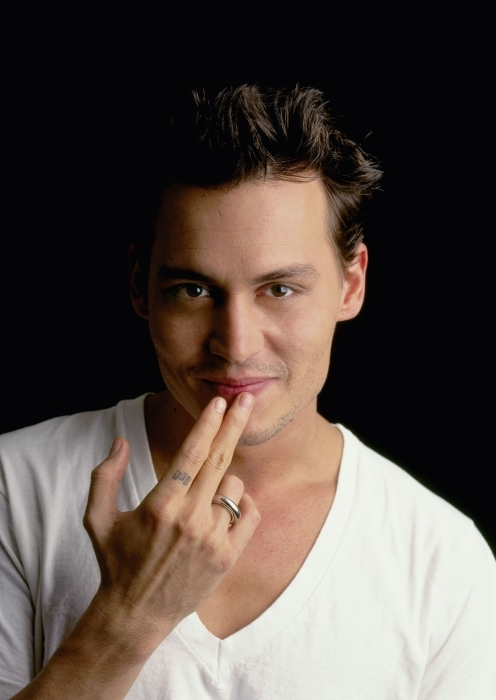 Naklejka Pixerstick Johnny Depp - Criteo