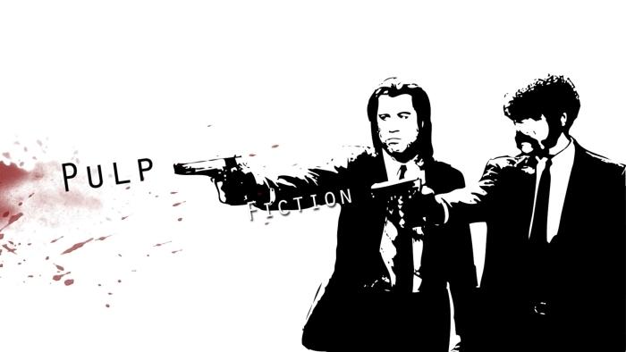 Papier peint vinyle Pulp Fiction - Criteo