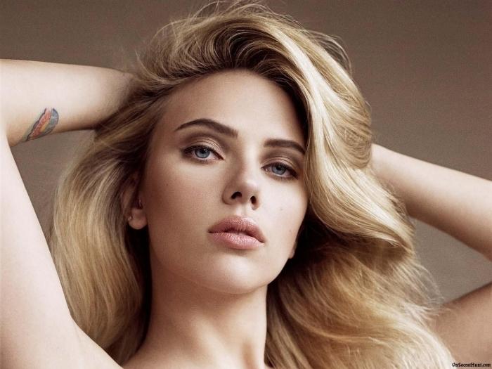 Vinyl Fotobehang Scarlett Johansson - Scarlett Johansson