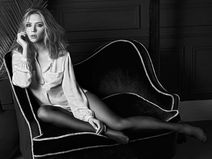 Fototapeta winylowa Scarlett Johansson - Scarlett Johansson