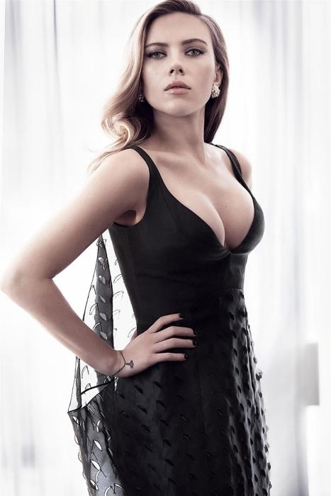 Fototapeta winylowa Scarlett Johansson - Criteo