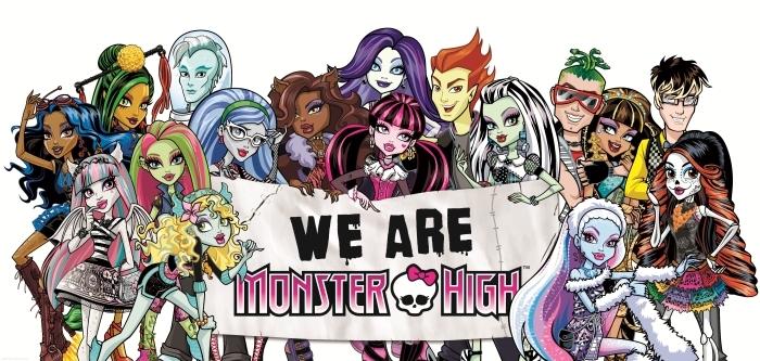 Papier peint lavable Monster High - Thèmes