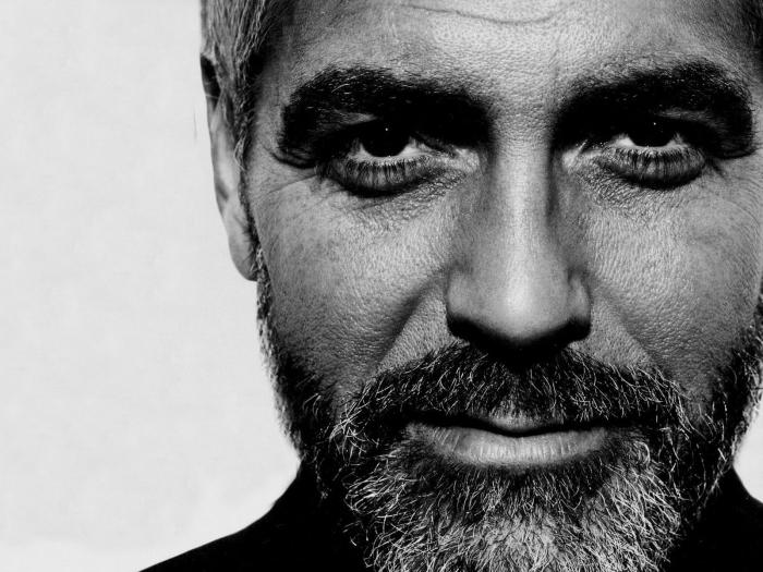 George Clooney Pixerstick Sticker - George Clooney