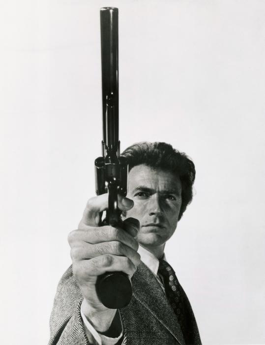 Zelfklevend Fotobehang Clint Eastwood - Criteo