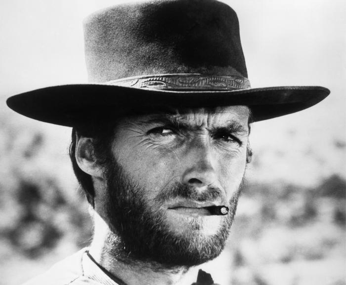 Papier peint vinyle Clint Eastwood - Criteo