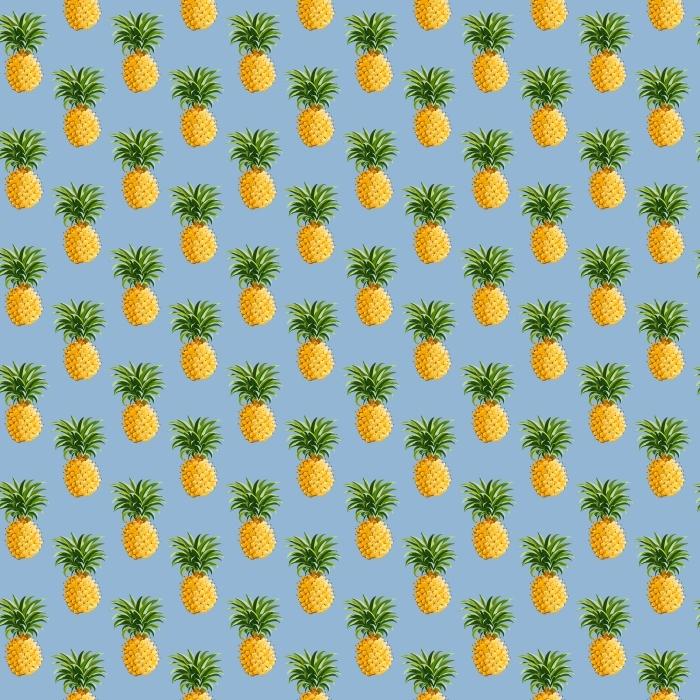 Çıkartması Pixerstick Ananas Tropikal Arkaplan -